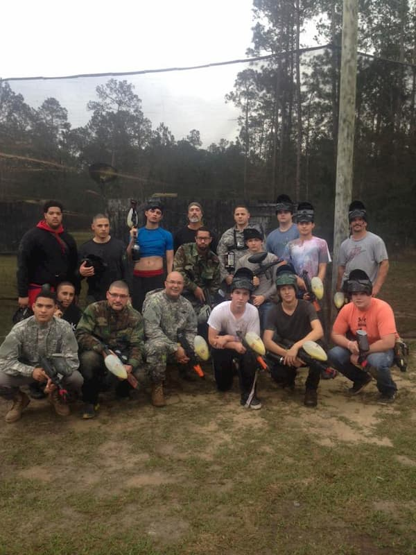 company paintball event