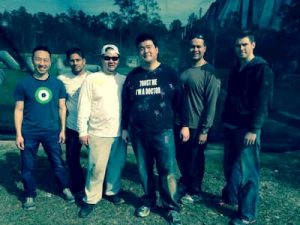 company team building paintball event
